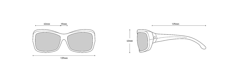 Spy Optic Farrah Flat Sunglasses FARRAH MINT CHIP FADE HAPPY BRONZE FADE 673011552355