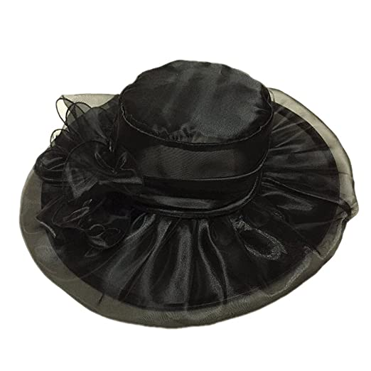 425ab47b9d93c Fashion Wedding Hats for Brides Diameter 58cm Evening Hats Women Elegant  Formal Hair-Accessories-