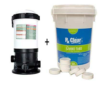 Amazon.com : Rx Clear Pool in-line & Off-line Chlorinator ...