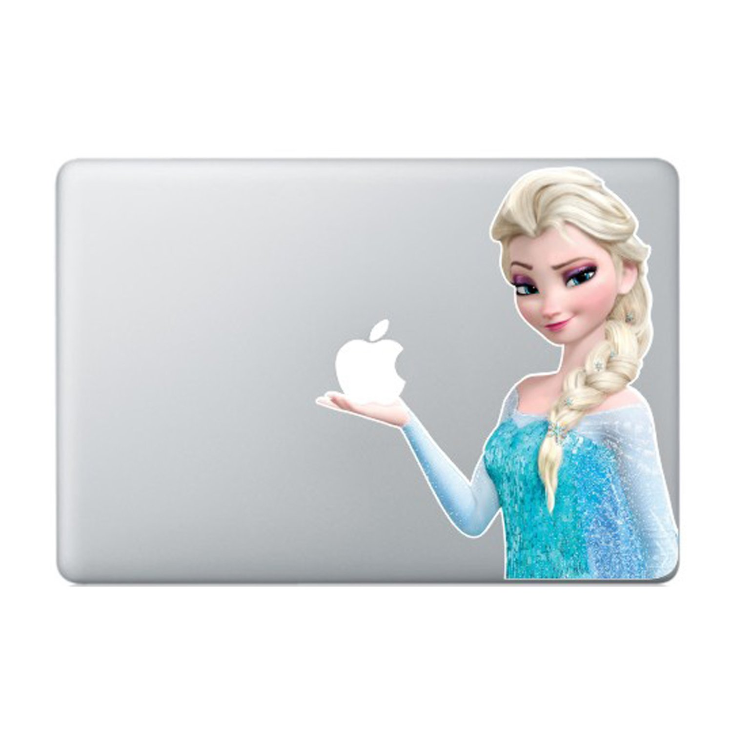 Elsa Frozen Princess Disney Movie Macbook Stickers Decal For Laptop Computer Wall Removable 3D Vinyl Pro Skin 13 inch