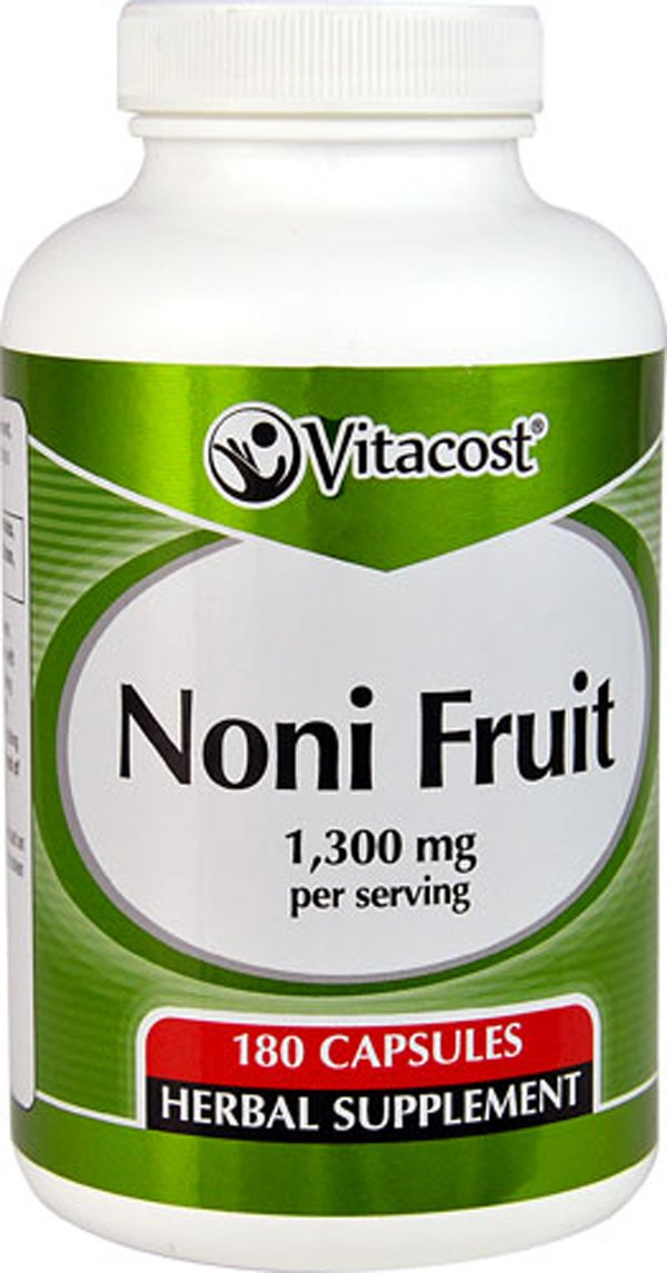 Vitacost Noni Fruit -- 1,300 mg per serving - 180 Capsules by Vitacost Brand