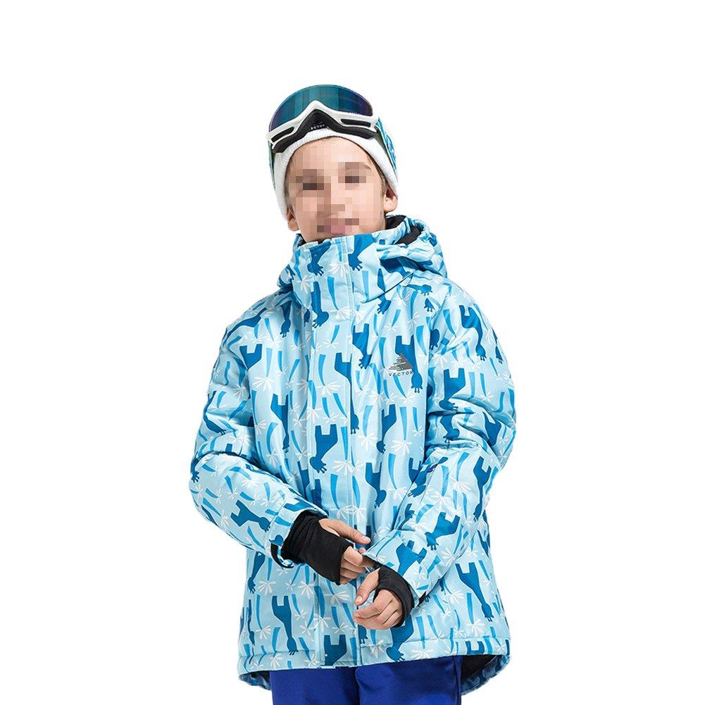 Deylaying 冬 アウトドア スポーツ 防水 職業 スキー ジャケット色雪コート 暖かい ために子供 B077RQR1HN 160|Color 1 Color 1 160