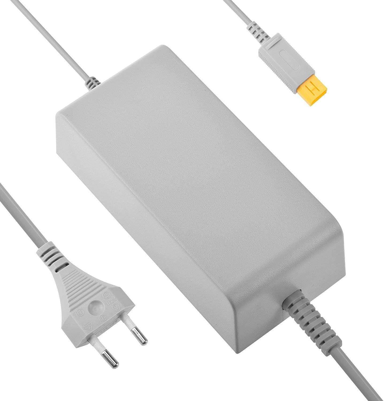 Link-e - Cargador de fuente de alimentación para consola Nintendo Wii-u