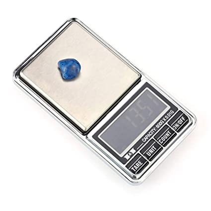 Scale Precision - 1pcs 200g 0 01g Mini Lcd Digital Pocket Jewelry Scale Precision Balance Electronic Weighting - Milligram High Digital 0.01 - - Amazon.com