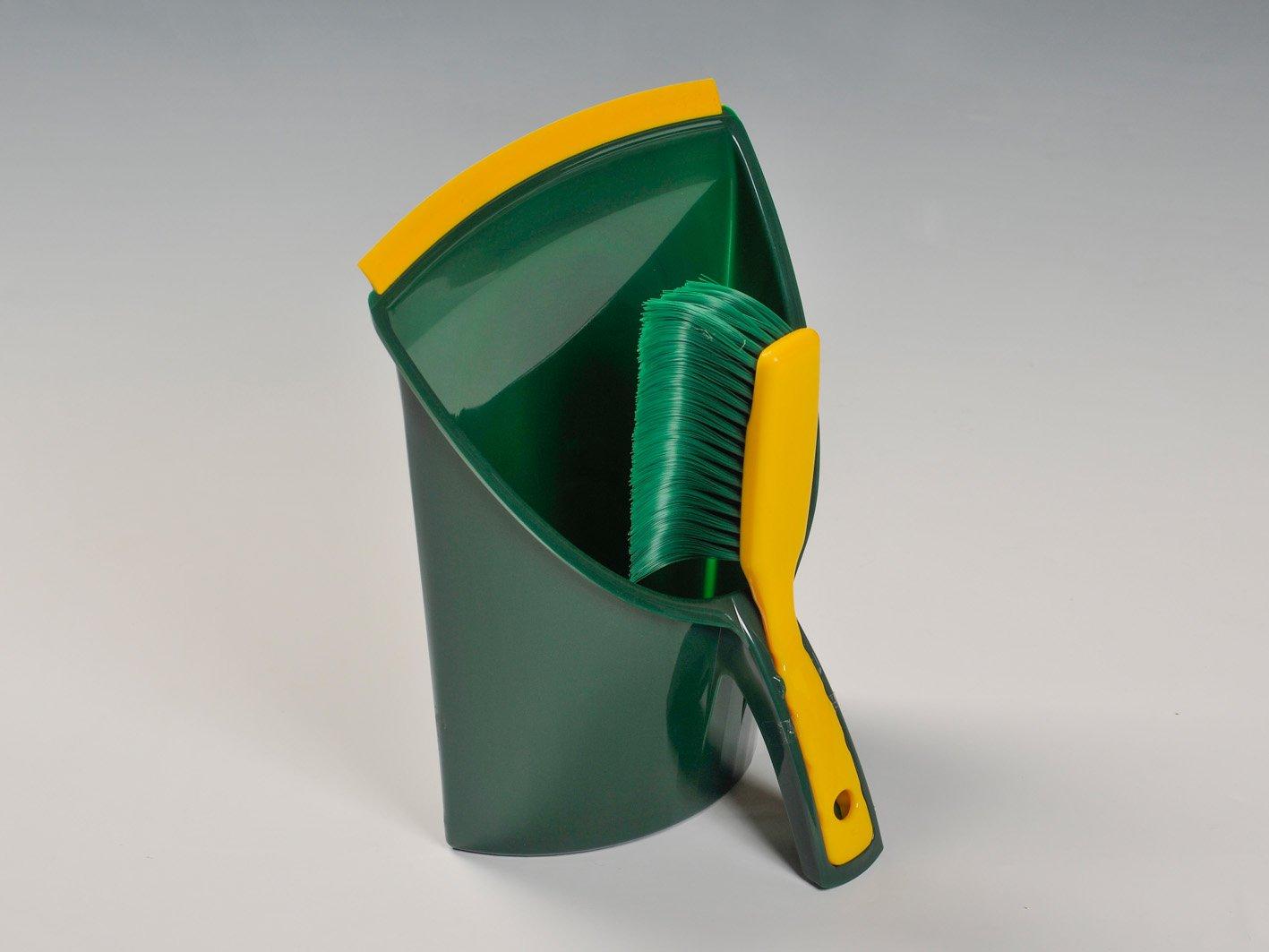 BÜMAG Broom Elaston krallenförm Jumbo Dustpan and Brush, Multi-Colour Bümag 327792