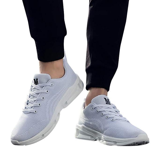 Zapatos de hombre JiaMeng Hombre Zapatillas de Senderismo Deportivas Aire Libre y Deportes Montaña de Malla Zapatos Transpirables Zapatos para Correr de ...