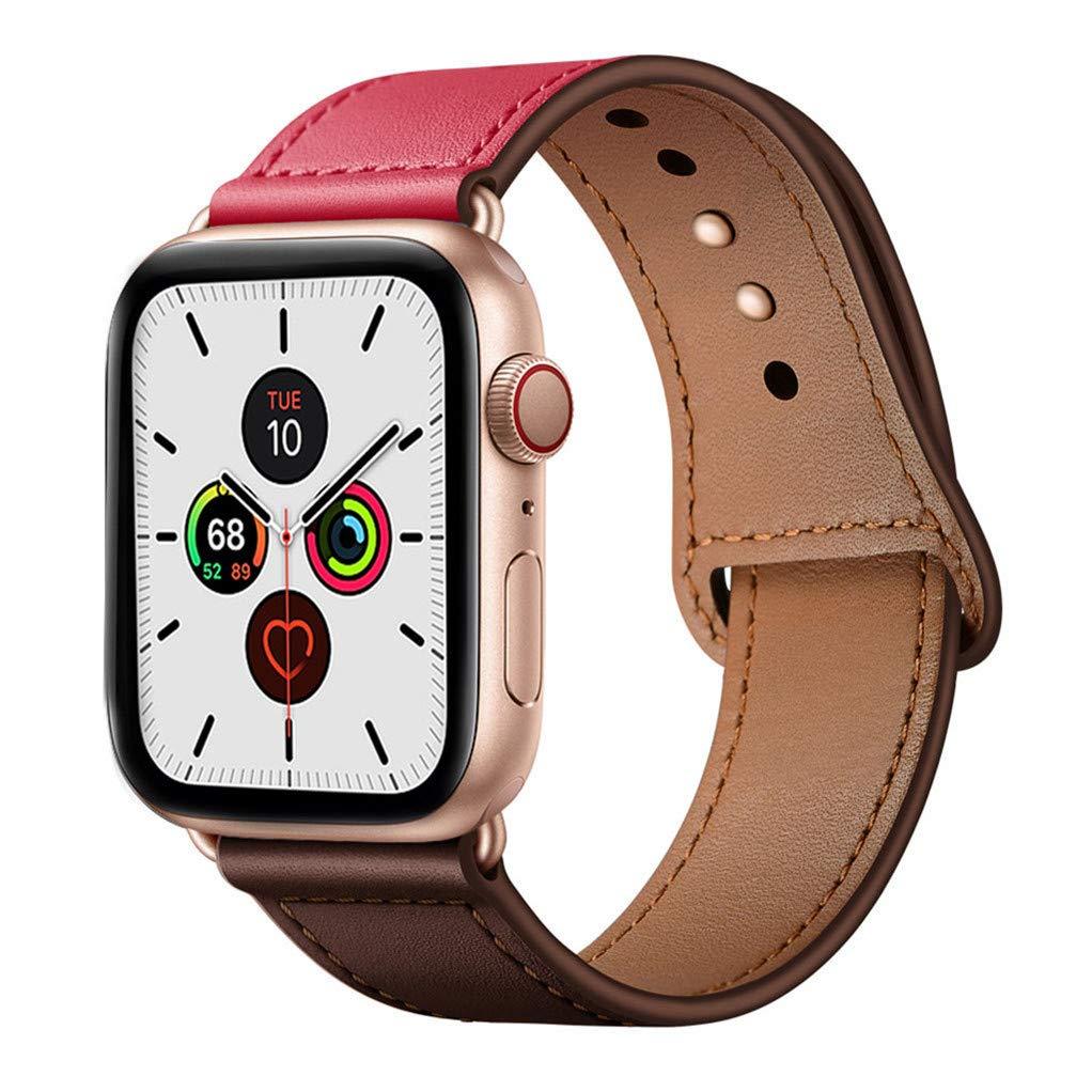 Malla Cuero para Apple Watch (38/40mm) YALOCEA [7W55F4SR]