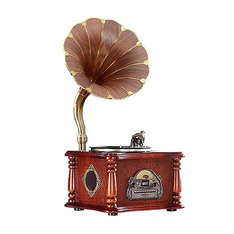 LVSSY-Gramófono con 3 Velocidades 33/45/78 Tocadiscos de ...