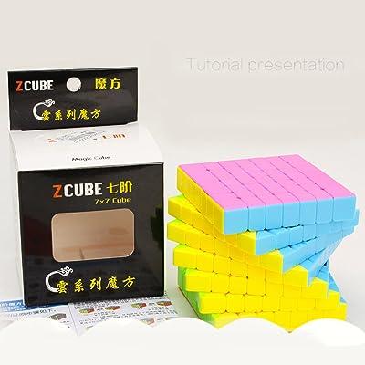 7 * 7 créatif professionnel vitesse Puzzle Cube développement intellectuel Smart Cube fantaisie jouet pour enfants