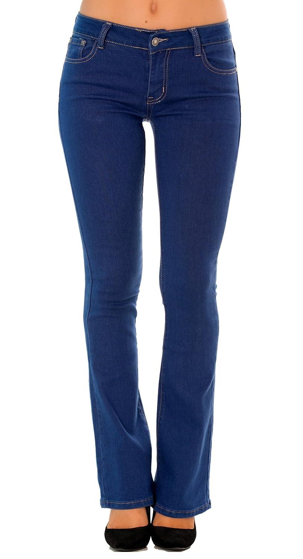 Mujer Skinny Simply Chic Mujer Vaqueros Slim Bootcut O Straight Pantalones Jeans Denim Talla 34 A 44 Ropa Brandknewmag Com
