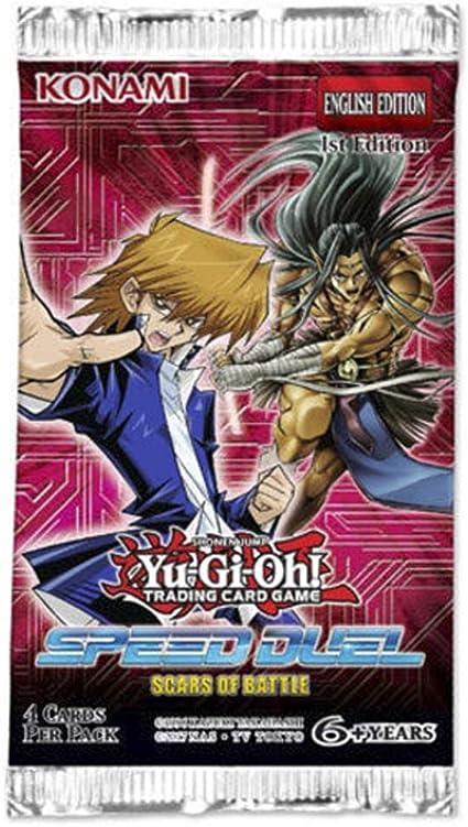 Konami YU-GI-OH! Sobres Speed Duel - Cicatrices DE Batalla: Amazon.es: Juguetes y juegos
