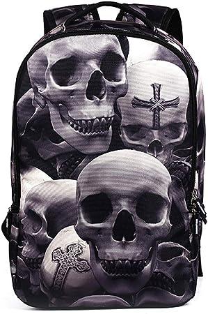 Acheter sac à dos école enfant tete de mort online 4