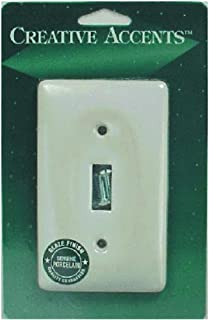 product image for Jackson Deerfield 981CW Porcelain Toggle Wall Plate