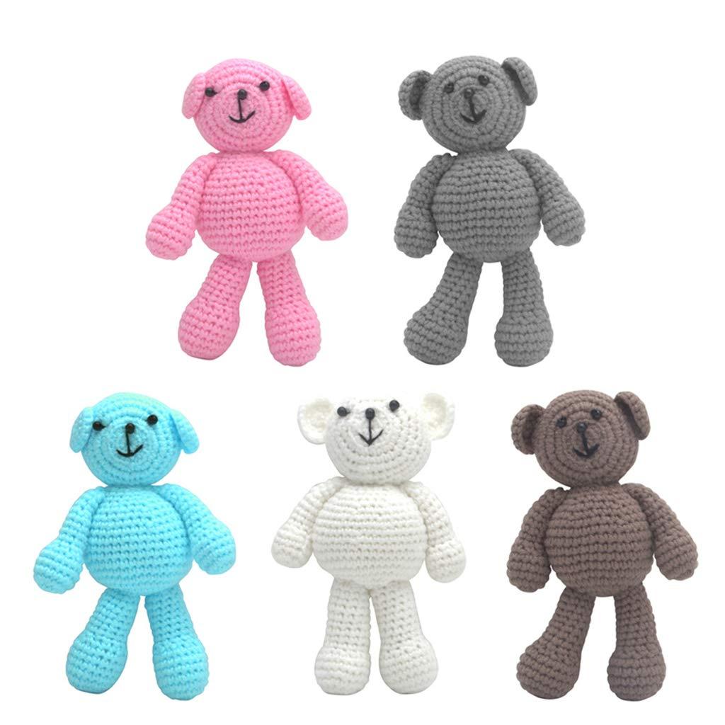 Xiuinserty Orsetto per neonato e bambina ideale come regalo Blue