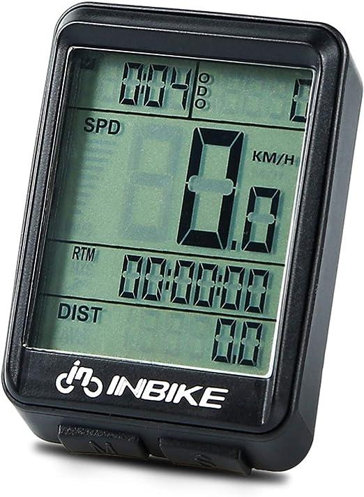 Digital Wireless Cycling Bike Bicycles Computer Odometer Speedometer Waterproof