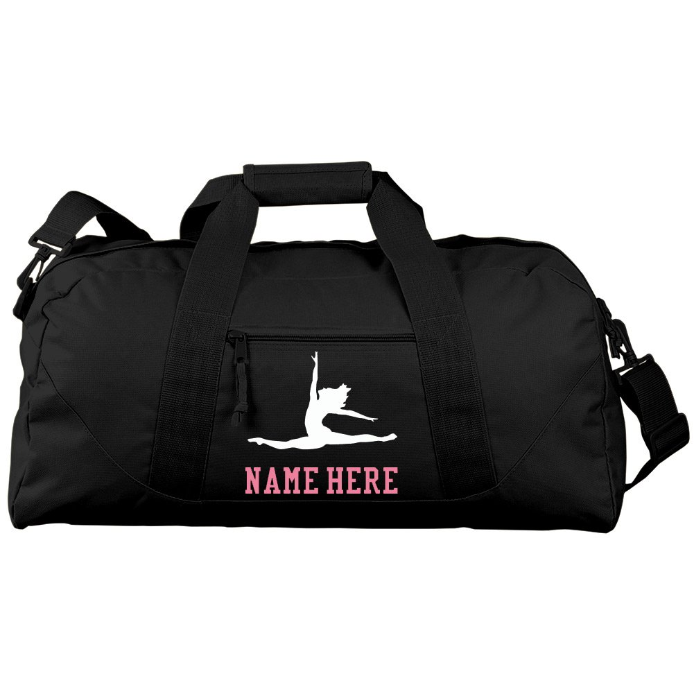 Personalized Ballet Bag With Name Gift: Liberty Large Square Duffel Bag