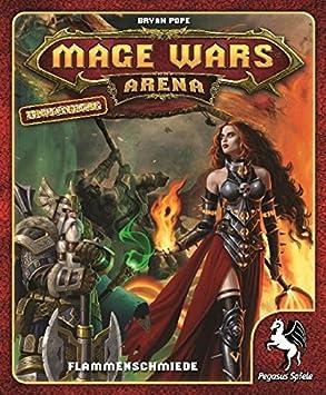 Pegasus Mage Wars Arena - Flammenschmiede Niños y Adultos Juego de ...