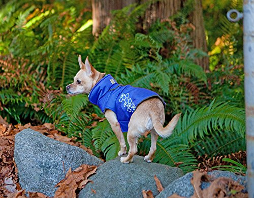 RC Pet Products Venture Outerwear Fleece Lined, Reflective, Water Resistant Dog Coat, Size 20, Electric Blue by RC Pet Products (Image #2)