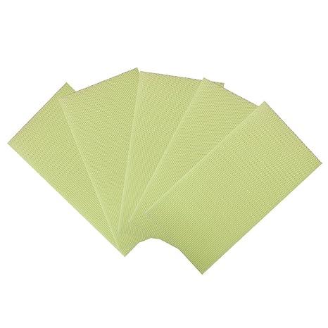 5pcs Plastico Marco De Colmena De Abejas Tazas Celulares Pad Para Caja De Miel Medio Montado
