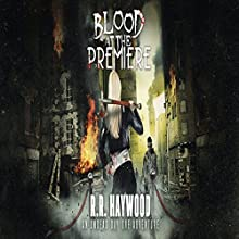Blood at the Premiere Audiobook by R. R. Haywood Narrated by Rachel Hine