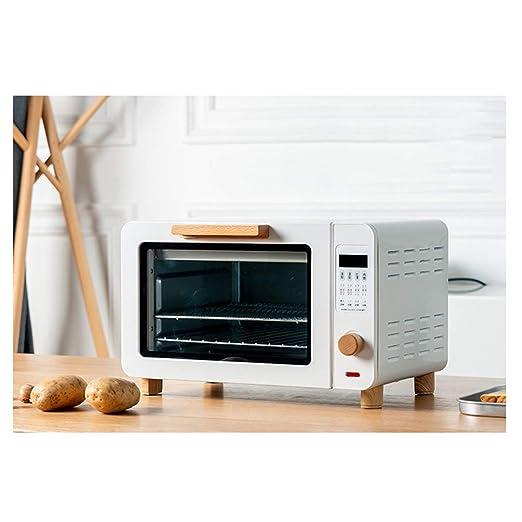 Pojrhfy Cocina Mini Horno - Horno eléctrico Retro Mini Horno Horno ...