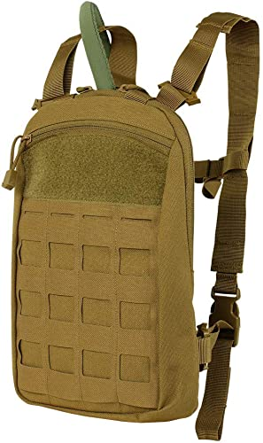 Condor Outdoor LCS Tidepool Hydration Bladder Carrier Coyote Brown