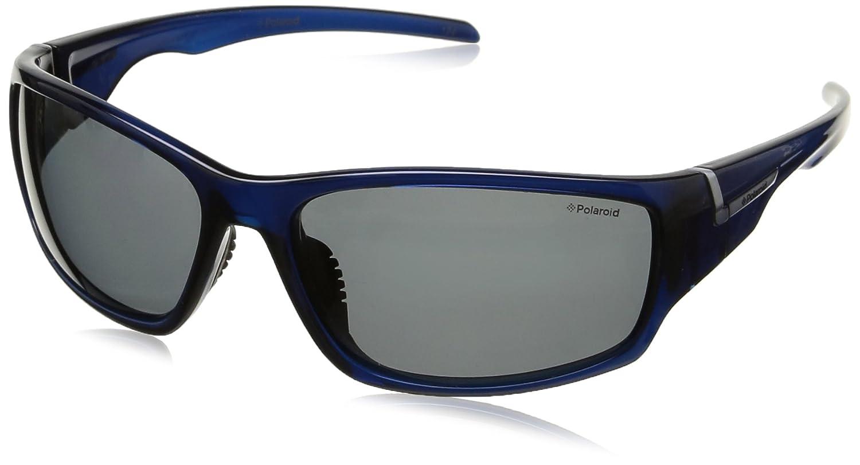 Polaroid Unisex-Erwachsene P7407 Y2 0BQ 63 Sonnenbrille, Blau (Bluette/Grey Pz)