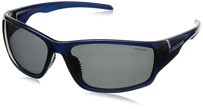 Polaroid P7407 Y2 0BQ 63 Gafas de Sol, Azul (Bluette/Grey Pz), Unisex Adulto: Amazon.es: Ropa y accesorios