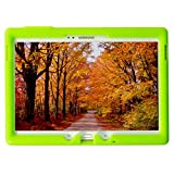 Bobj Rugged Case for Samsung Galaxy Tab S 10.5 Tablet Models SM-T800 (WiFi), SM-T805, SM-T807 (3G, 4G/LTE & WiFi) - BobjGear Protective Cover - (Gotcha Green)