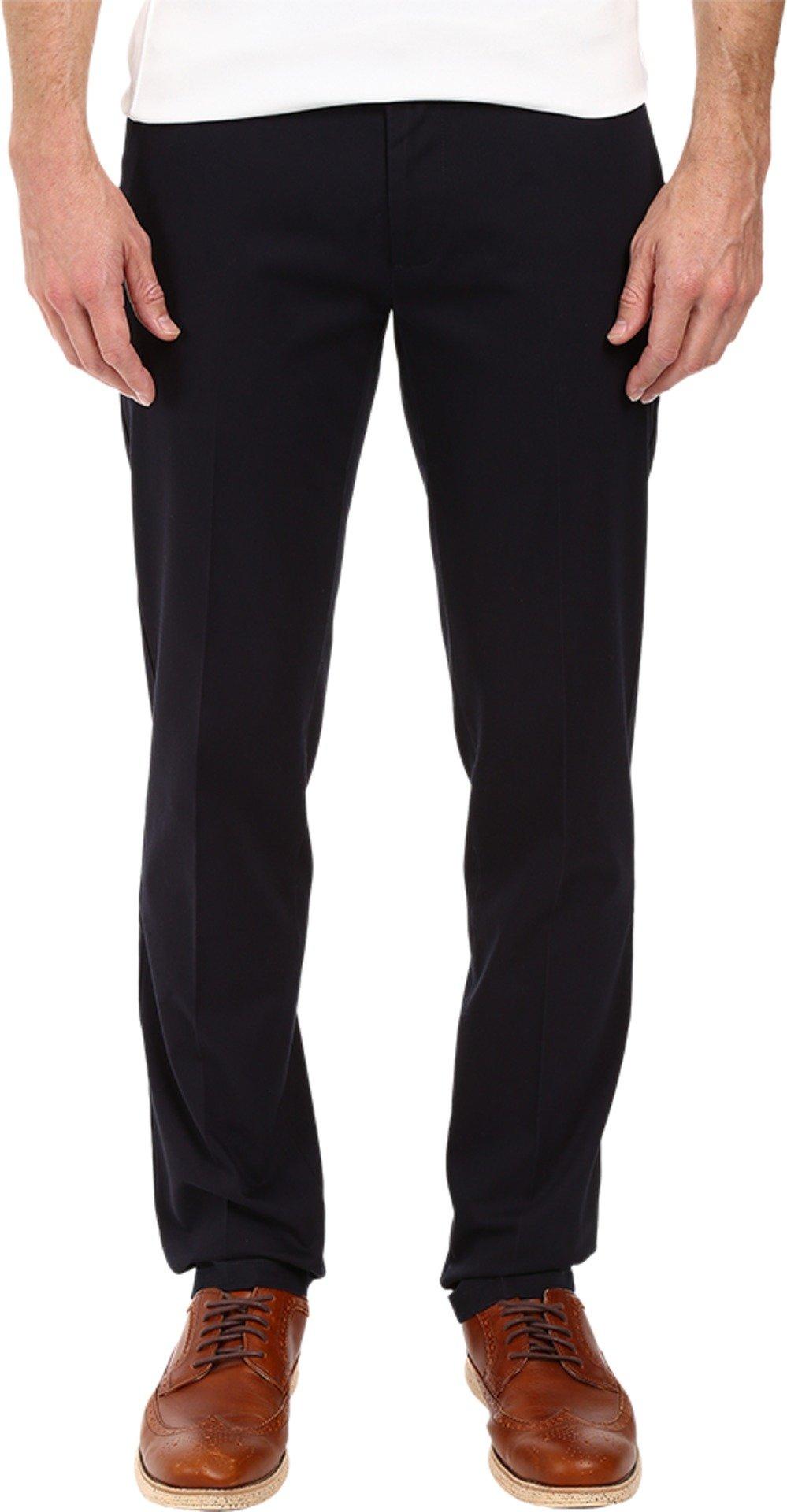 Dockers Men's Slim Tapered Fit Signature Khaki Pants, Navy (Stretch),32W x 32L