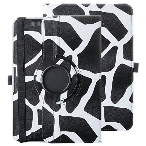 """Price comparison product image ULAK Kindle Fire HD 8.9 Case 360 Rotating Stand Case Smart Case Function Auto Wake / Sleep + Synthetic Leather for official Kindle Fire HD 8.9 (8.9"""" inch) 2012 Release Black Giraffe"""
