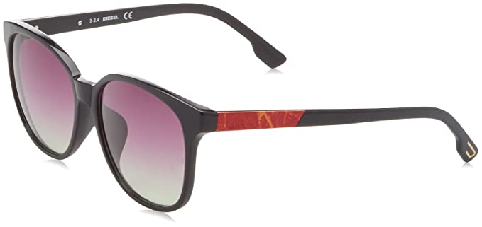 Diesel Butterfly Eye, Gafas de sol para Mujer, Negro (Nero ...
