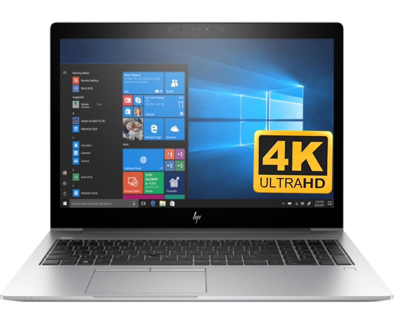 HP EliteBook 850 G5 Premium 15.6 UHD Laptop Notebook PC (Intel 8th Gen i7-8550U Processor, 32GB RAM, 512GB SSD, 15.6