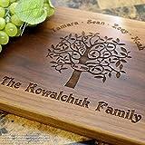 Personalized Cutting Board, Custom Keepsake, Engraved Serving Cheese Plate, Wedding, Anniversary, Engagement, Housewarming, Birthday, Corporate, Closing Gift #402