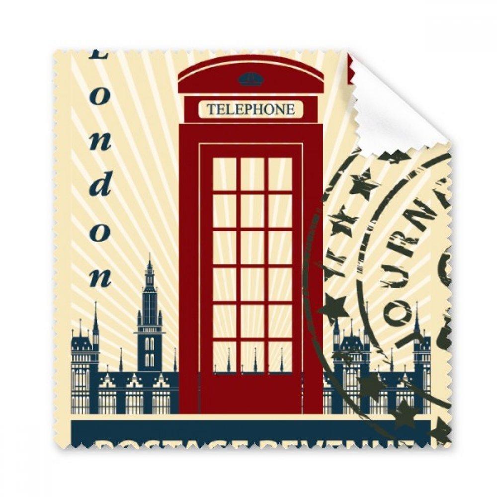 イギリス電話ブーススタンプロンドンCountry City Glasses布クリーニングクロスギフト電話画面クリーナー5点   B0725ZB91Q