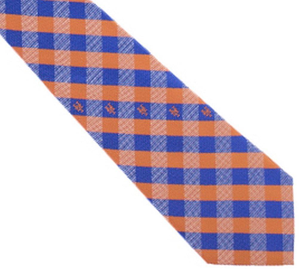 New York Mets Check Poly Necktie