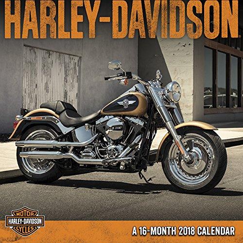 Harley Davidson 2018 Wall Calendar cover