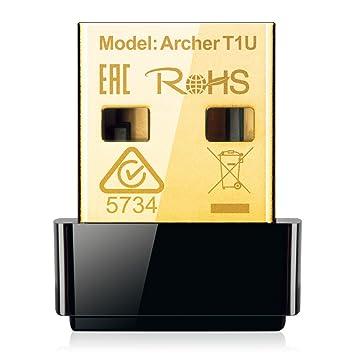 TP-Link Archer T1U v1 USB Adapter Driver for Windows Mac