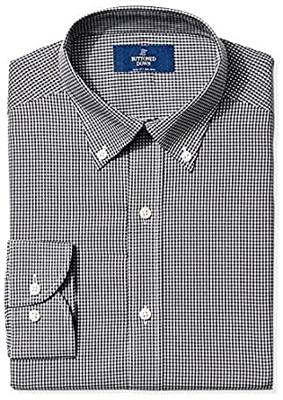 Buttoned Down Men 39 S Slim Fit Button Collar