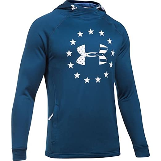 3f85acf4 Under Armour Men's Freedom Tech Terry Fabric Hoodie (XX-Large) at ...