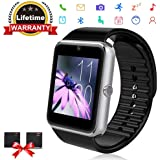 Bluetooth Smart Watch - ANCwear Smartwatch for Android Phones with SIM Card Slot Camera, Fitness
