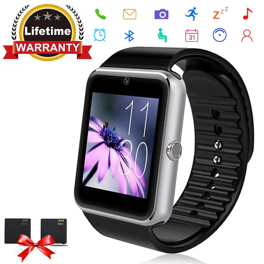 Bluetooth Smart Watch - ANCwear Smartwatch for Android Phones with SIM Card Slot Camera, Fitness Tracker Watch for Sleep Monitor, Step Counter Watch ...