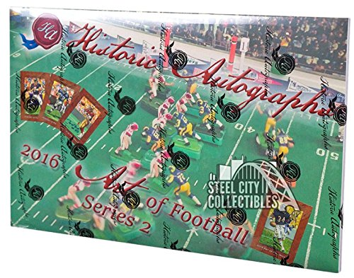 2016 Historic Autographs Art of Football Series 2 Hobby Box ()