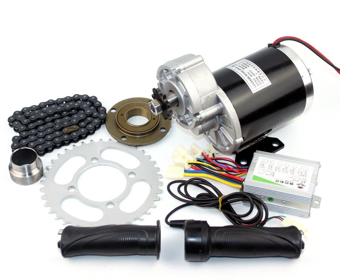 36v48v 600ワット電動ブラシギアモーターキットmy1020z電動輪タク経済的な変換キット高品質trishawsエンジンシステム B07CG4P7LC36V600W normal kit