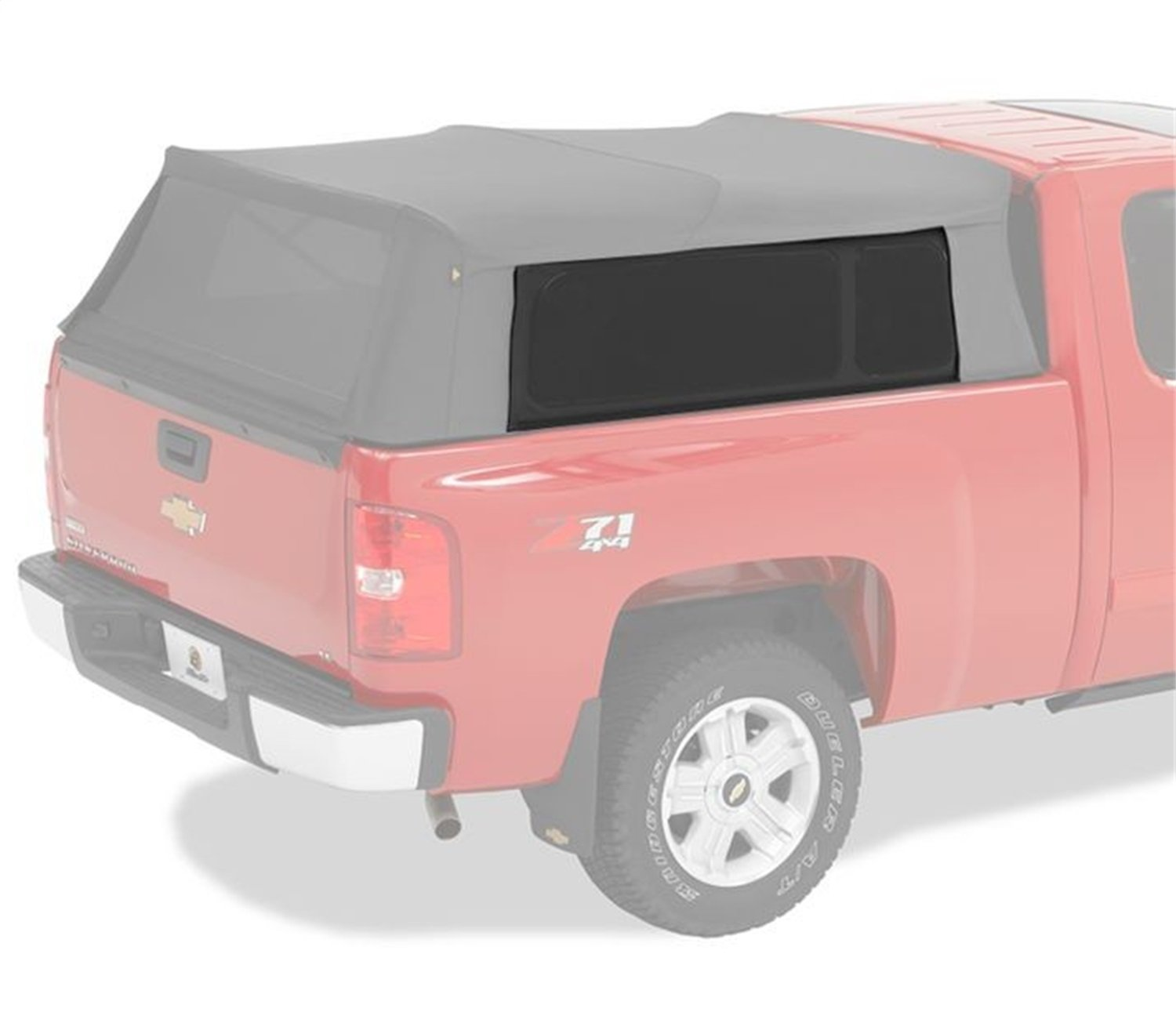 Bestop 76324-35 Black Diamond Tinted Window Replacement Kit for Supertop for Truck Bed Cover (use w/ 76308, 76309, 76310)