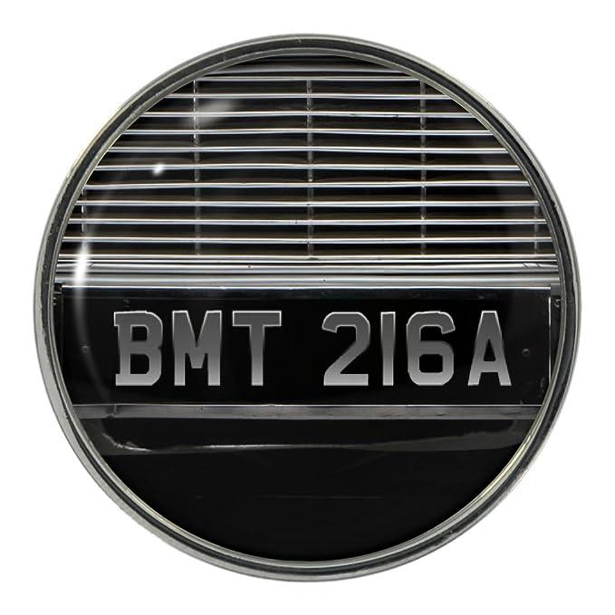 Amazon.com: BMT 216 diseño de placa de un coche Pin de metal ...