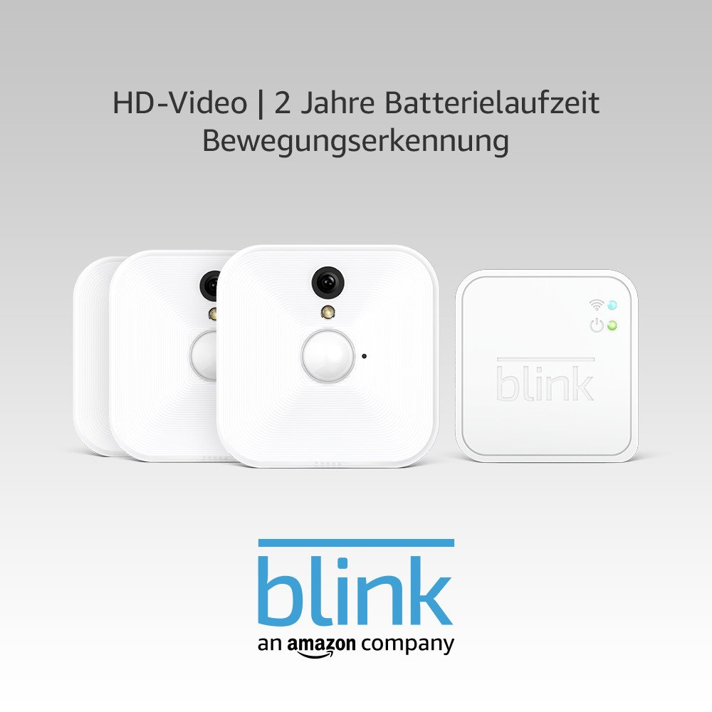 Sync-Modul erforderlich f/ür den Innenbereich Blink Video/überwachungskamera Zusatzkamera f/ür bestehendes System