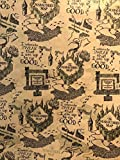 Art, Inc. Harry Potter Wrapping Paper Roll 'Marauders Map'