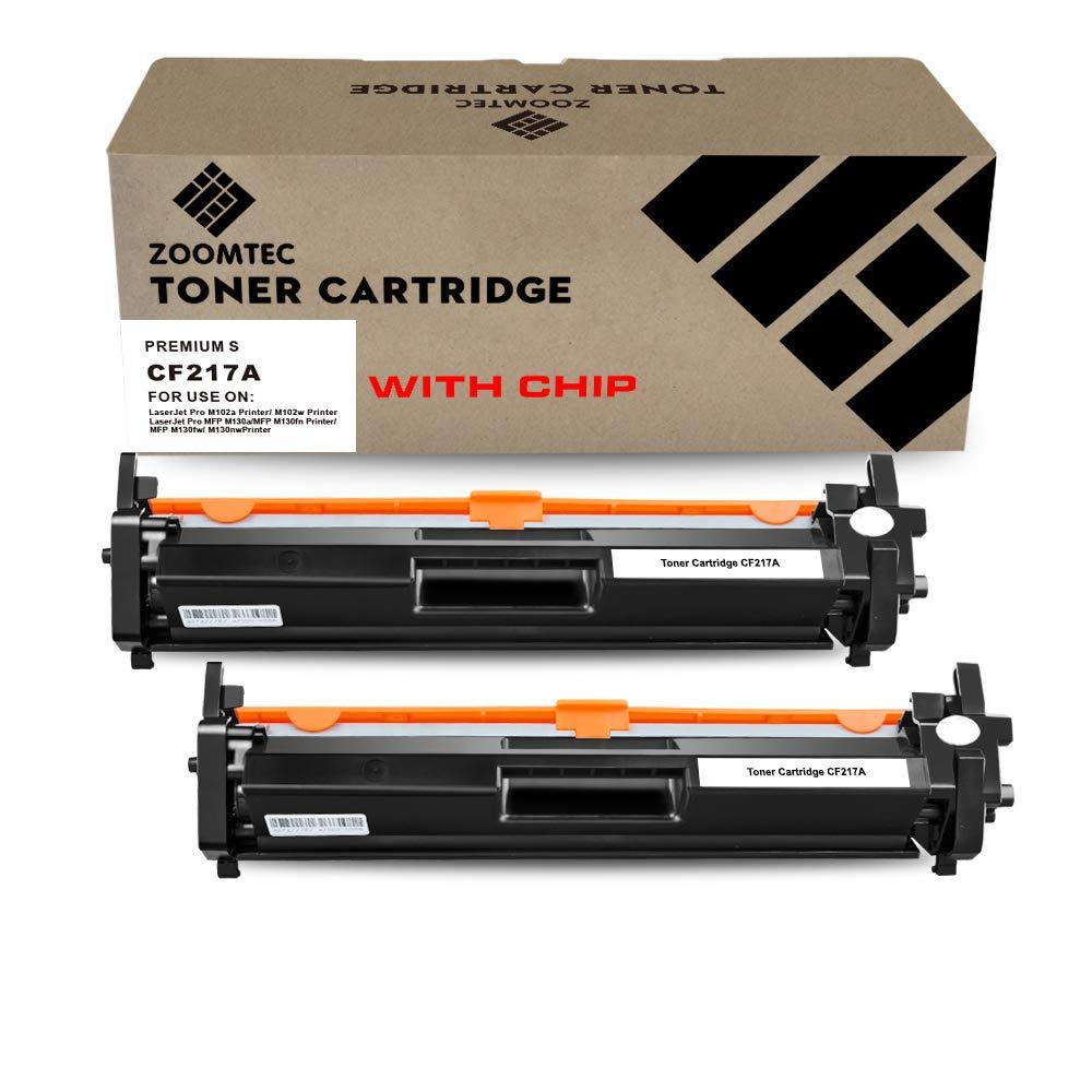 ZOOMTEC 17A CF217A (Sin Chip) Cartucho De Tóner Negro Compatible ...