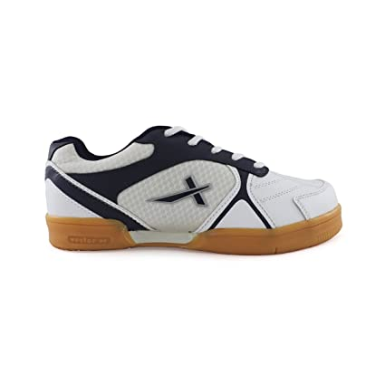 Vector X Warrior Badminton Shoes (White) Men's Running Shoes at amazon